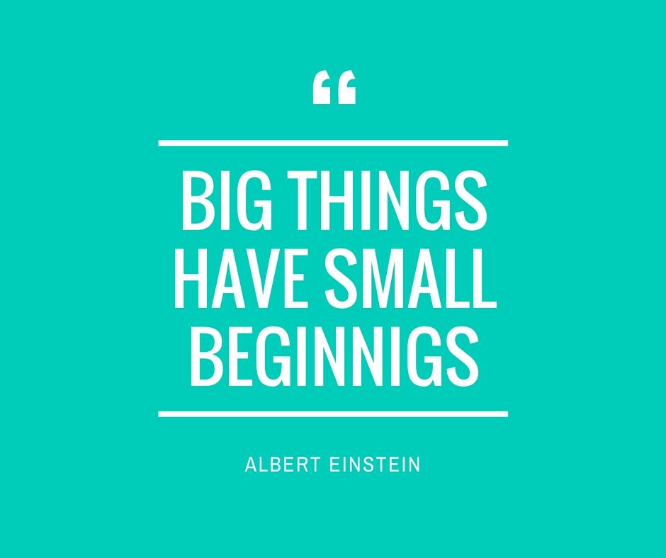 Can tiny habits deliver big goals?