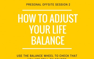 Getting life balance right with the balance wheel
