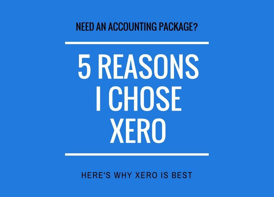5 reasons I'm using Xero for my company accounts