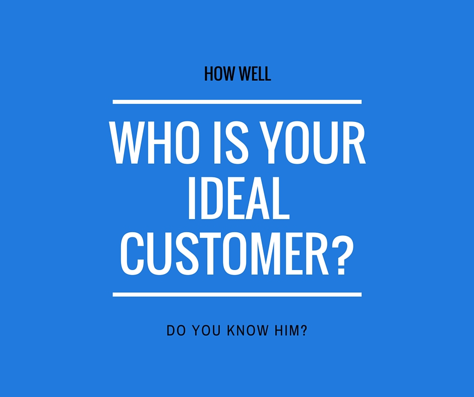 How well do you know your ideal customer?