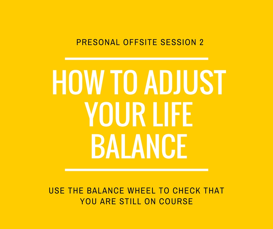 How to adjust your life balance with the balance wheel