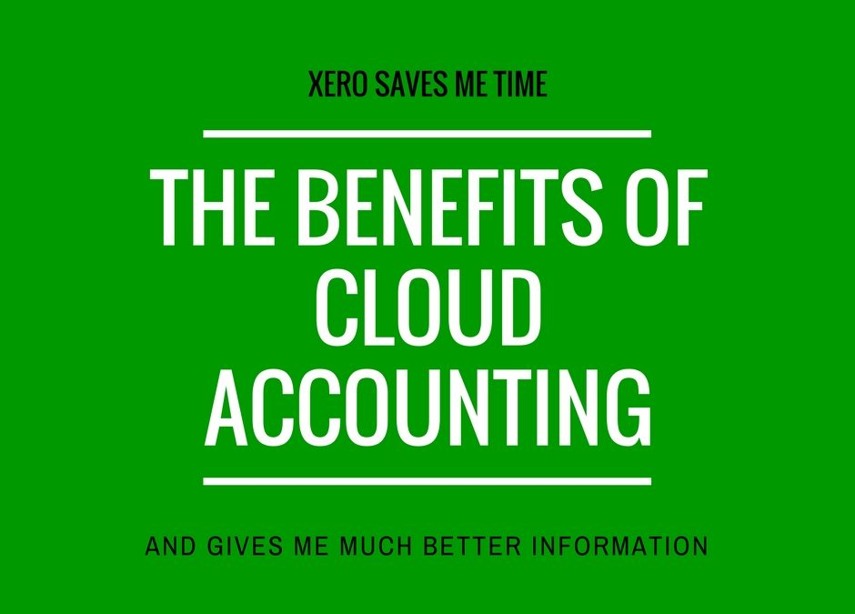 Cloud accounting saving time and improving information